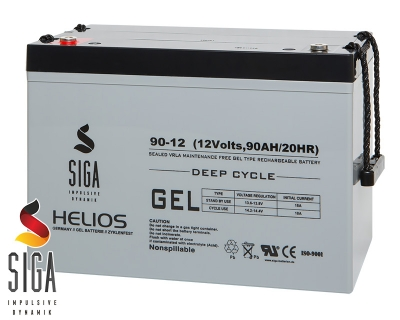 Gel Batterie 90AH 12V
