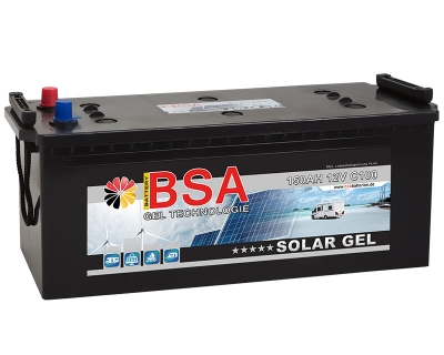 BSA Gel Batterie 150AH 12V