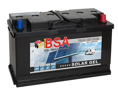 BSA Gel Batterie 70AH 12V