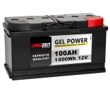Langzeit Gel Power Batterie 100AH 12V